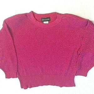 PIERRE CARDIN Womens LARGE Vintage Pink Sweater L